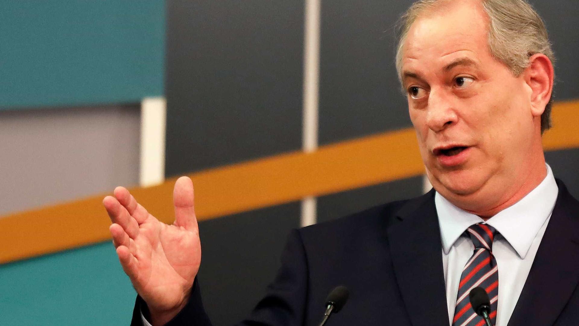 PT também colaborou para radicalização, diz Ciro Gomes