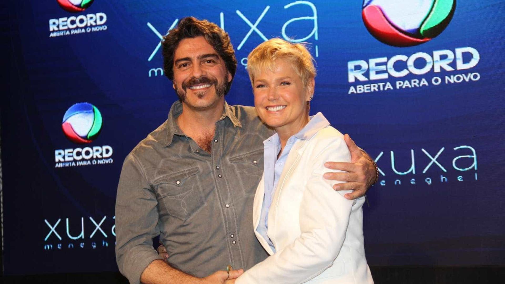 Xuxa diz que público deve cobrar postura de Junno em 'Dancing Brasil'