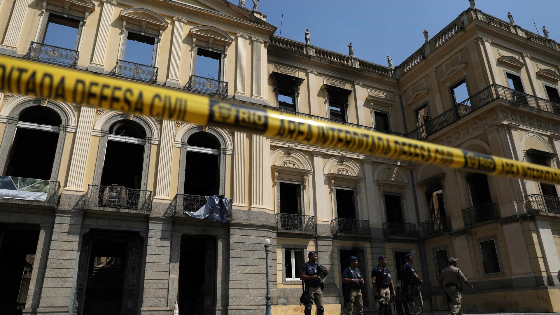 Especialistas da Unesco visitam Museu Nacional do Rio nesta quinta