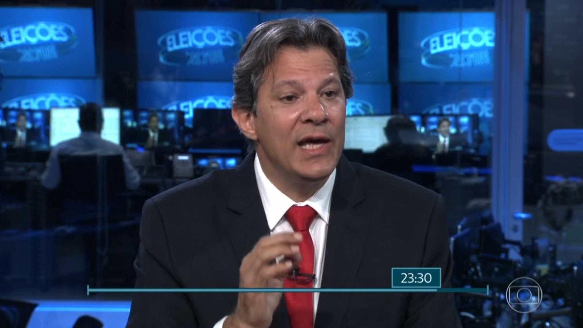 Haddad diz que 'sabotagem' a Dilma foi maior que erros na economia
