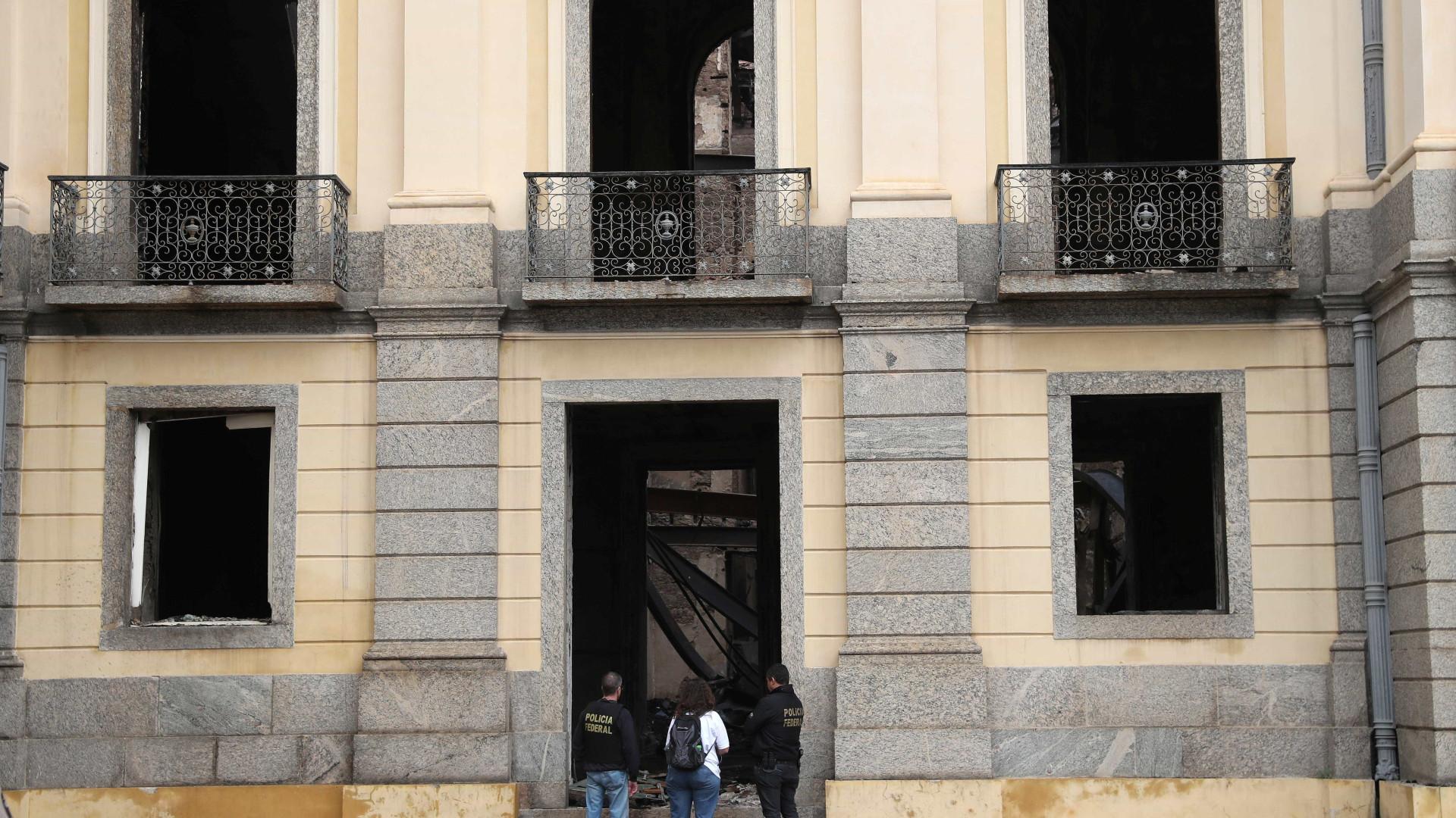 Museu Nacional: obras de emergência começam nesta sexta-feira