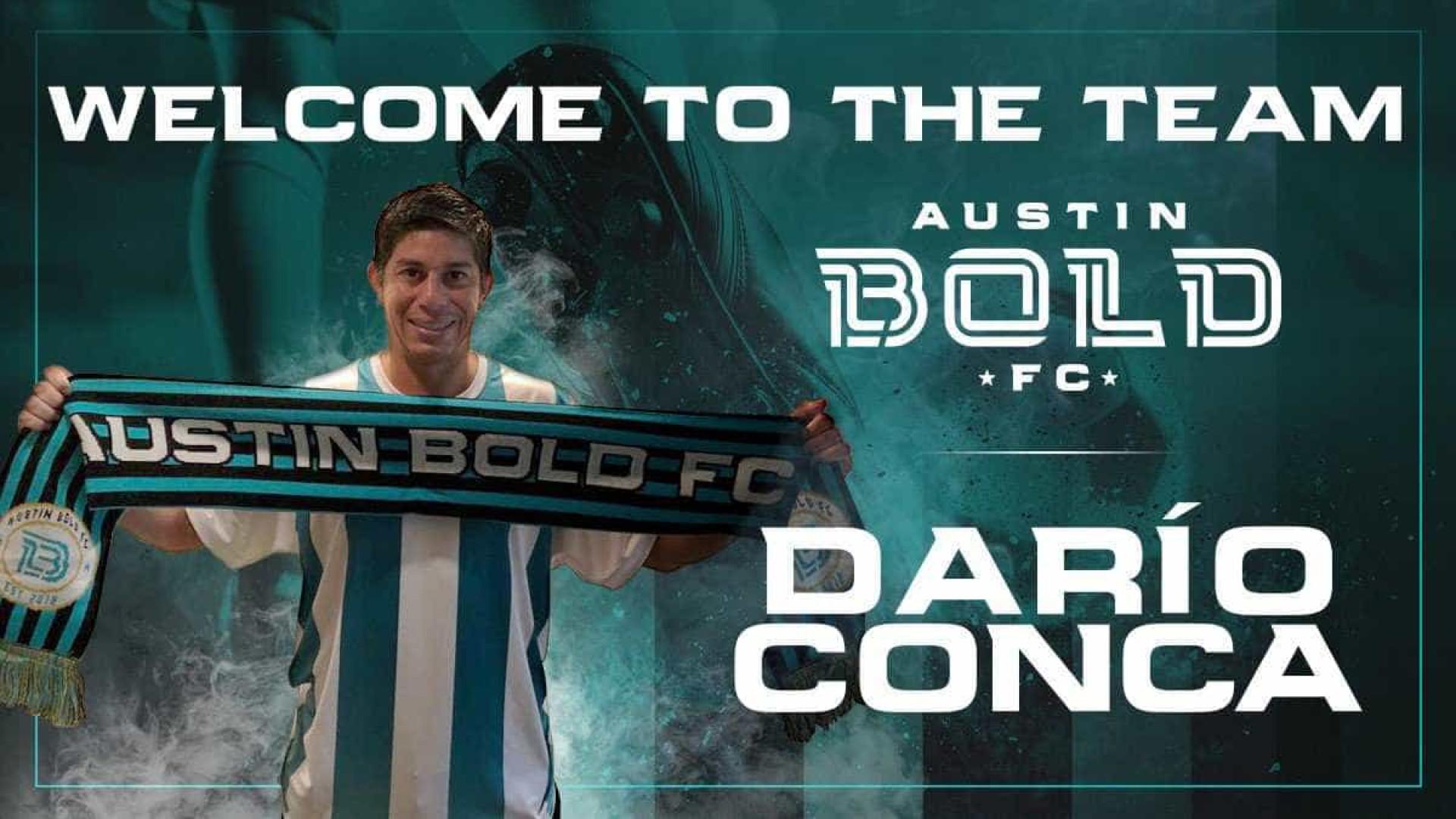 Austin Bold, dos EUA, contrata o jogador argentino Darío Conca