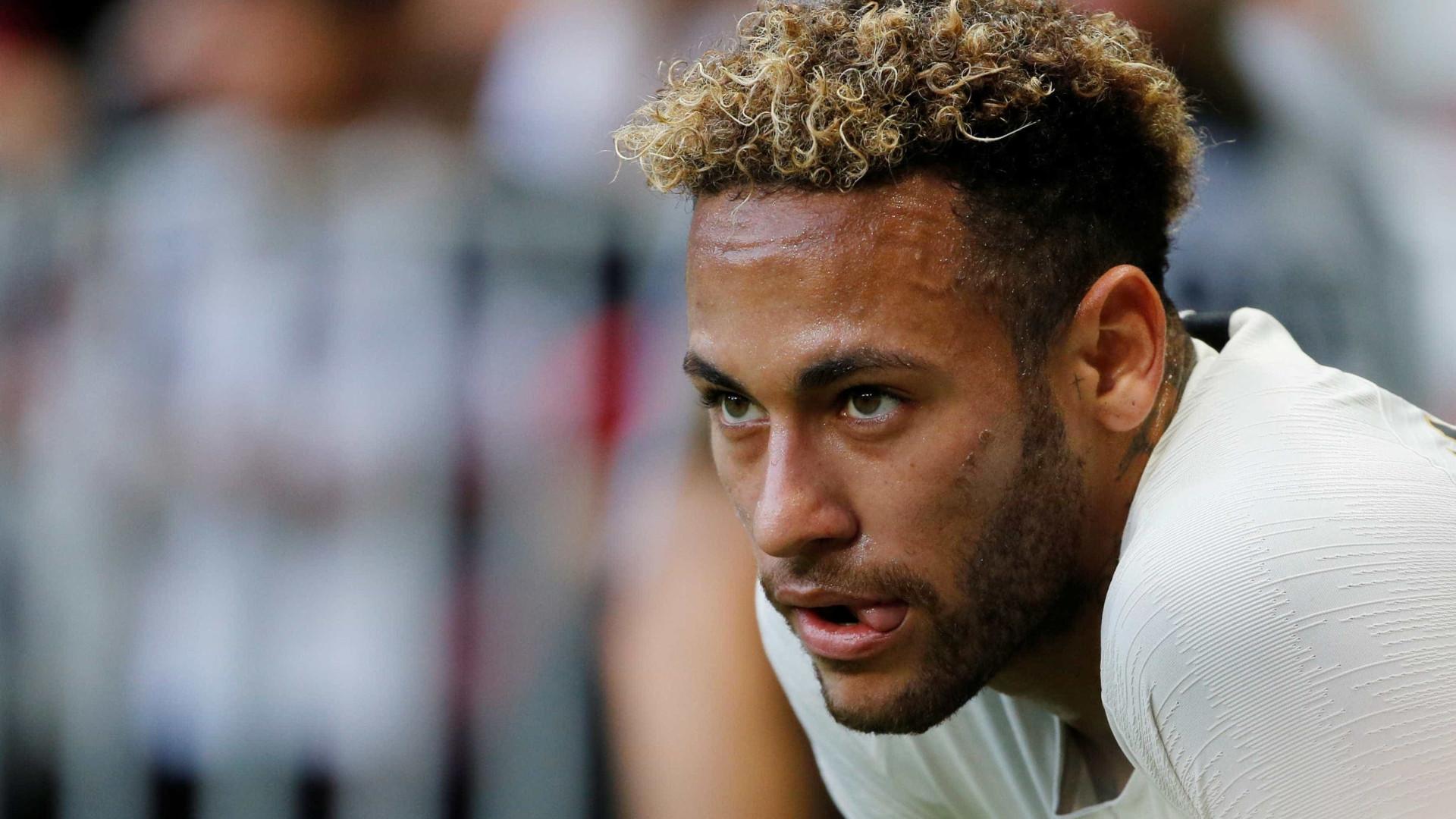 Neymar diz que lesão foi superada, mas ainda não está jogando 100%