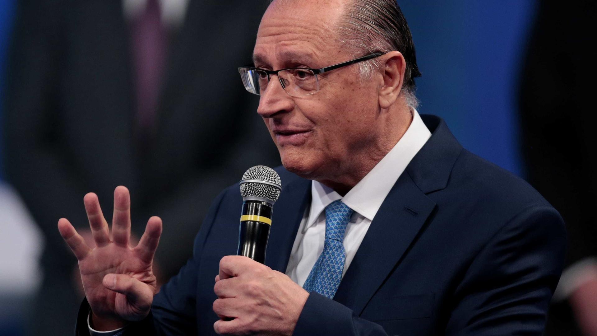 Para Alckmin, pesquisa Datafolha mostra que disputa está estabilizada