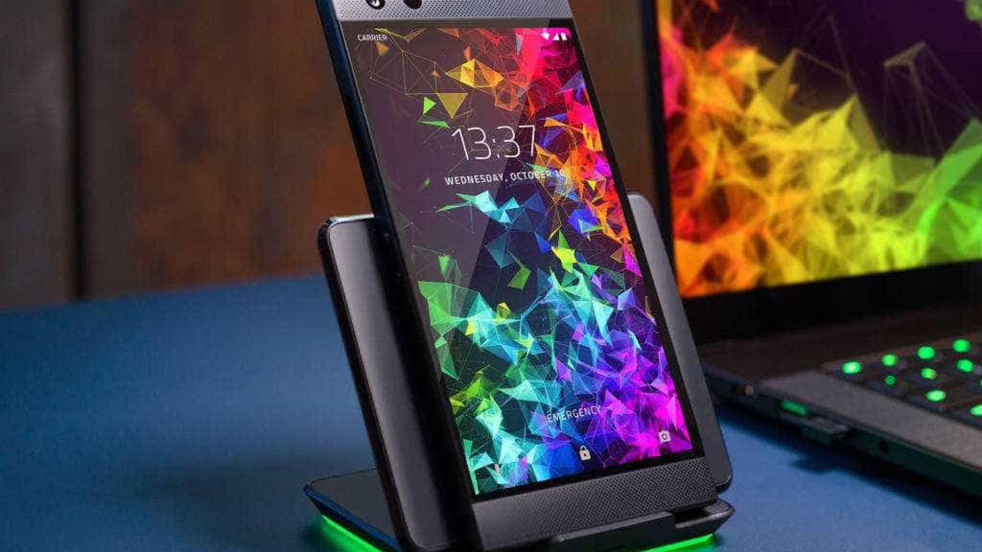Razer Phone 2 é lançado durante a BGS 2018 e foi pensado para os gamers