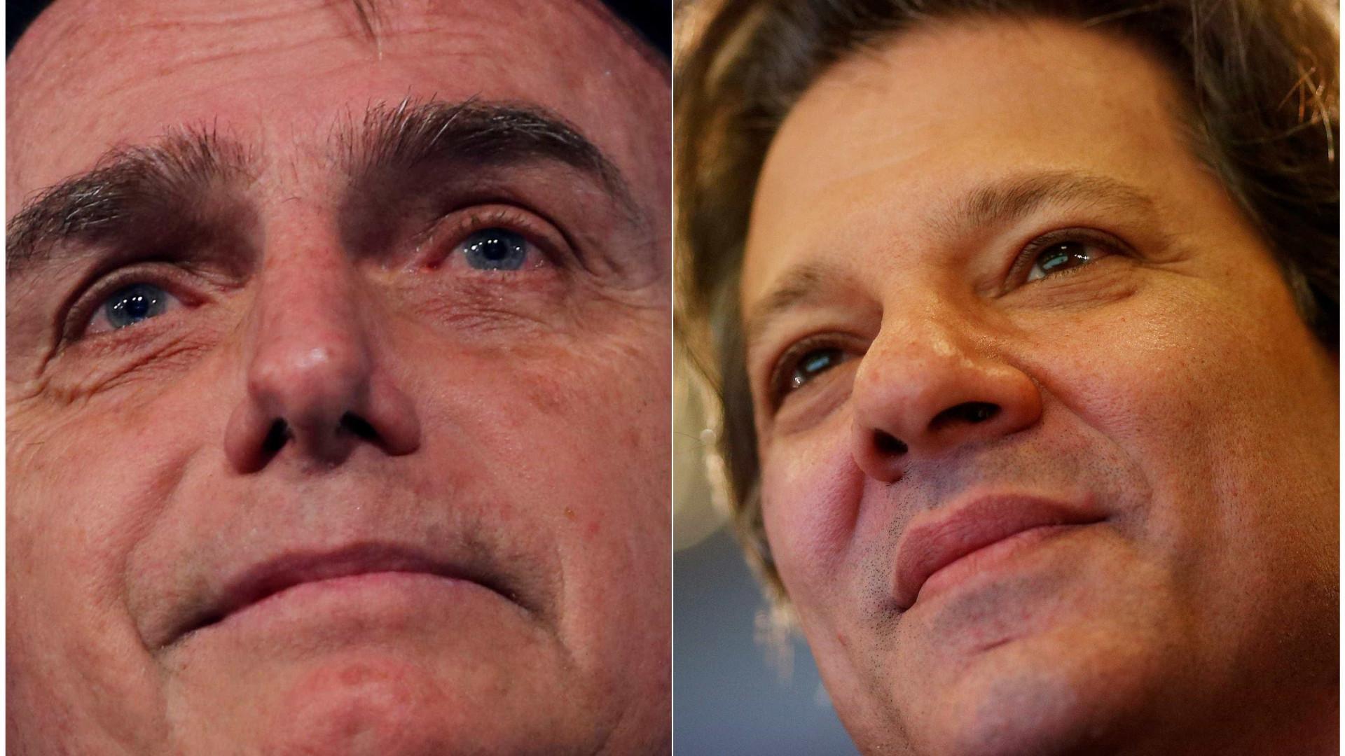 A 4 dias da eleição, líderes têm rejeição maior que intenção de votos
