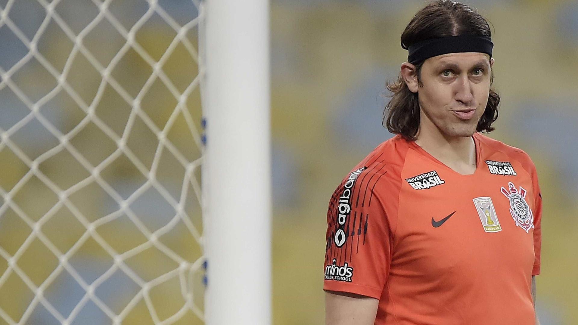 Cássio critica empresário de Pedrinho por ameaça de saída do clube