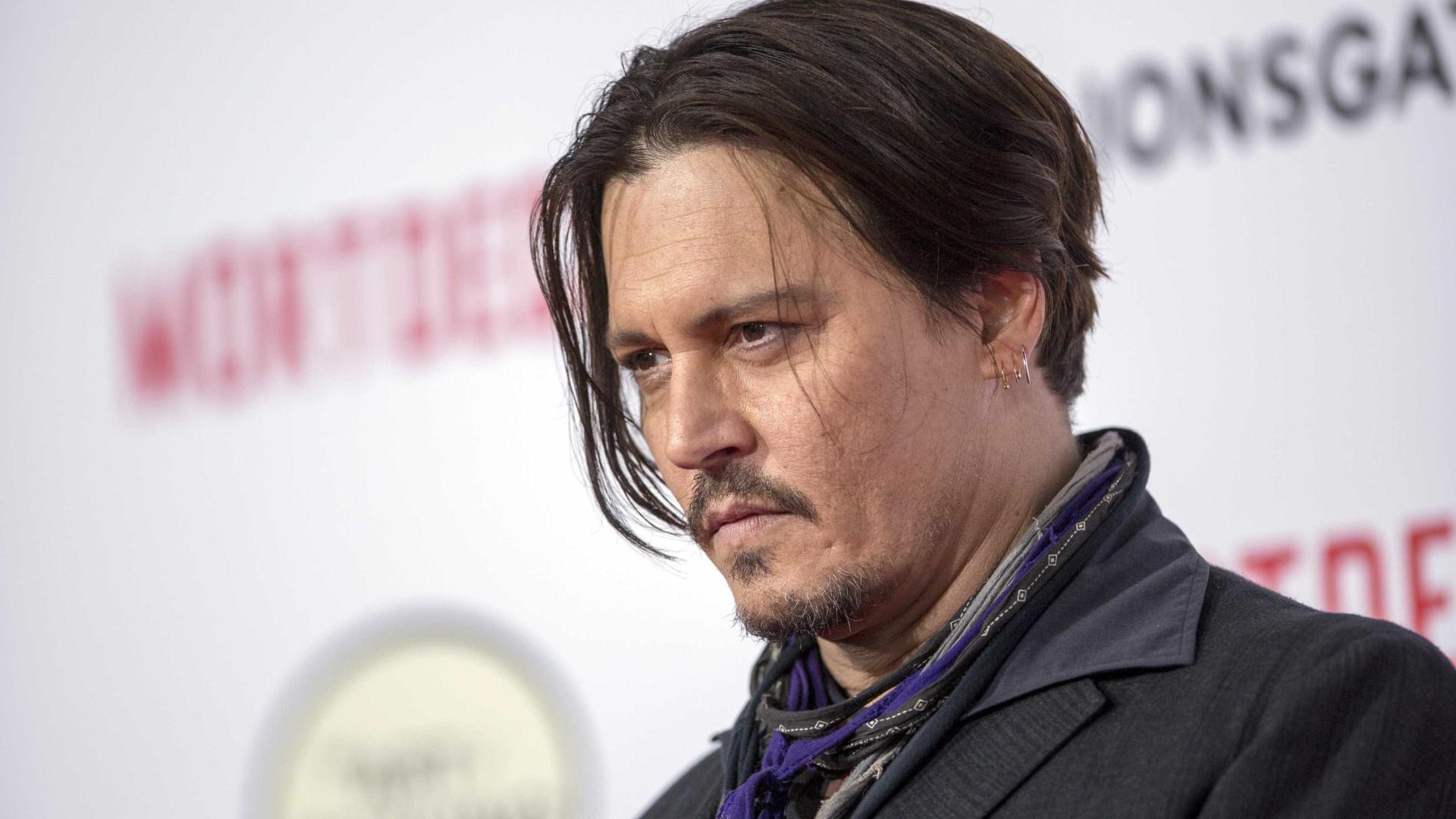 Johnny Depp não vai mais interpretar o pirata Jack Sparrow no cinema