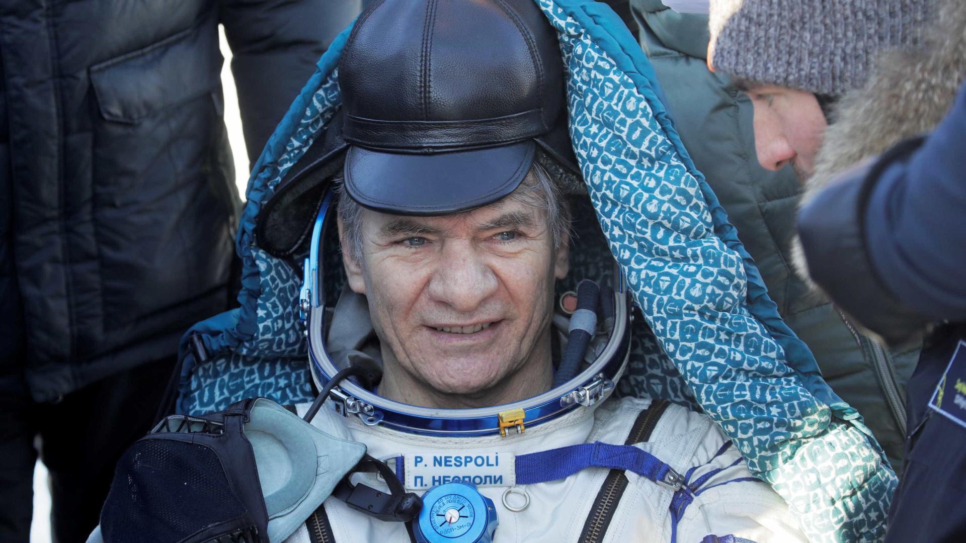 Astronauta italiano Paolo Nespoli anuncia aposentadoria