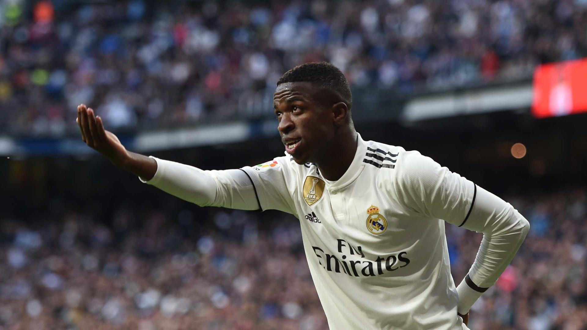 Jornal espanhol sugere Vinícius Júnior como titular no lugar de Bale