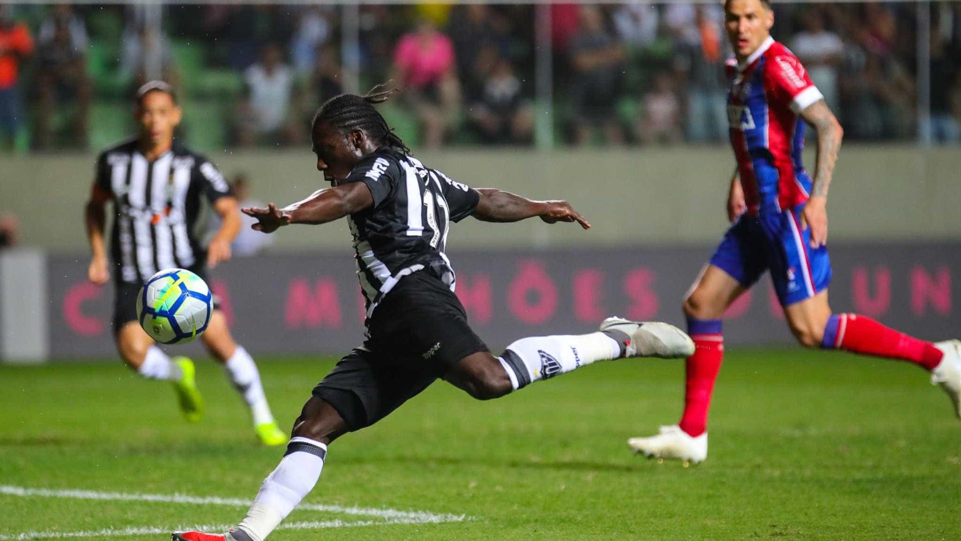 Cazares faz a diferença e Atlético-MG vence o Bahia