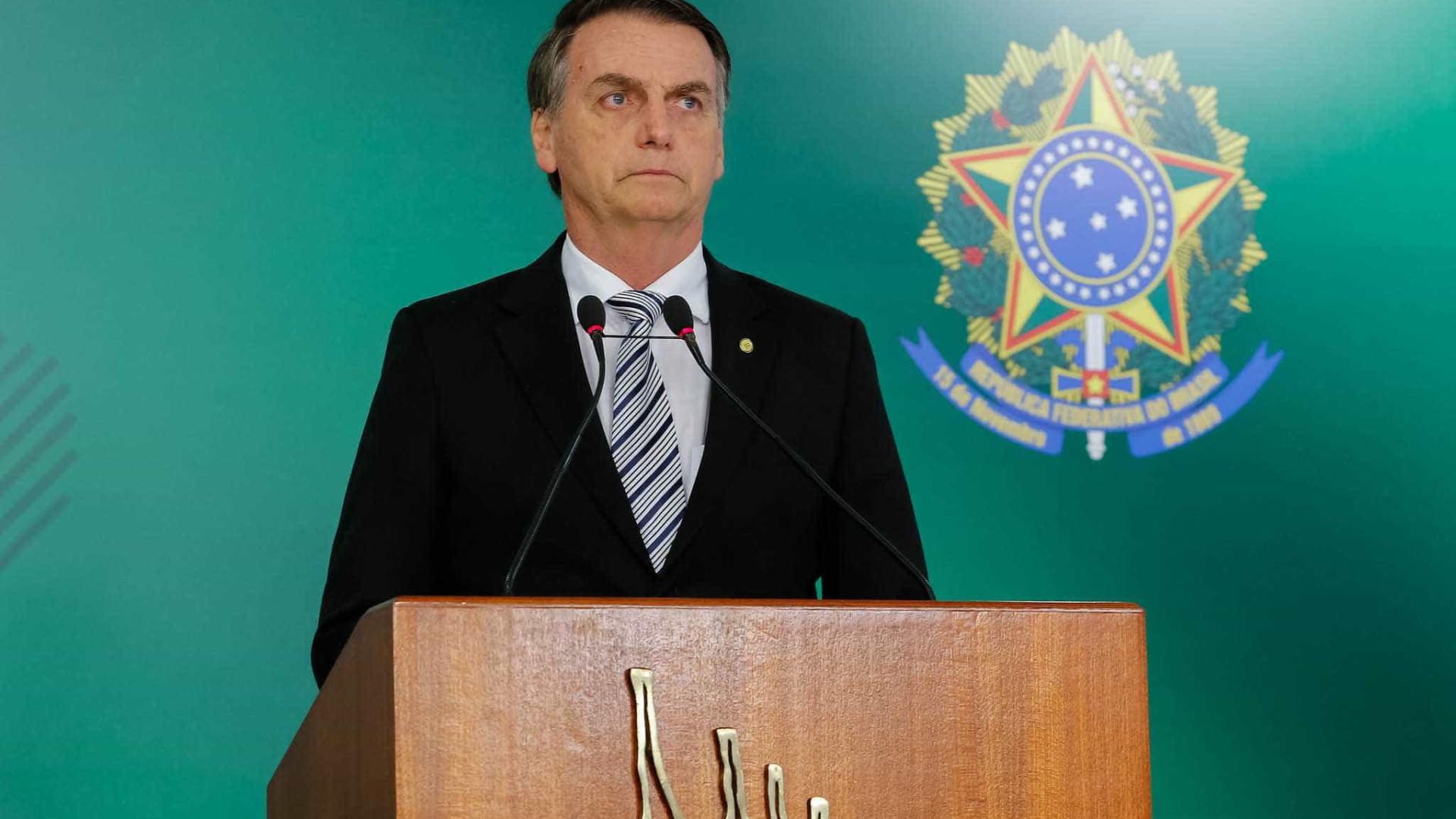 País deixará de ser 'fonte de renda' de ditaduras, diz Bolsonaro