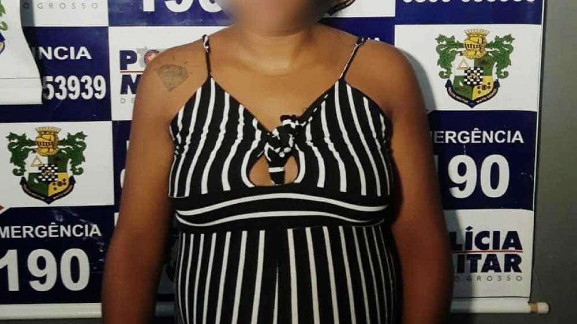 Menor grávida de 9 meses é detida após furtar 10 peças de picanha