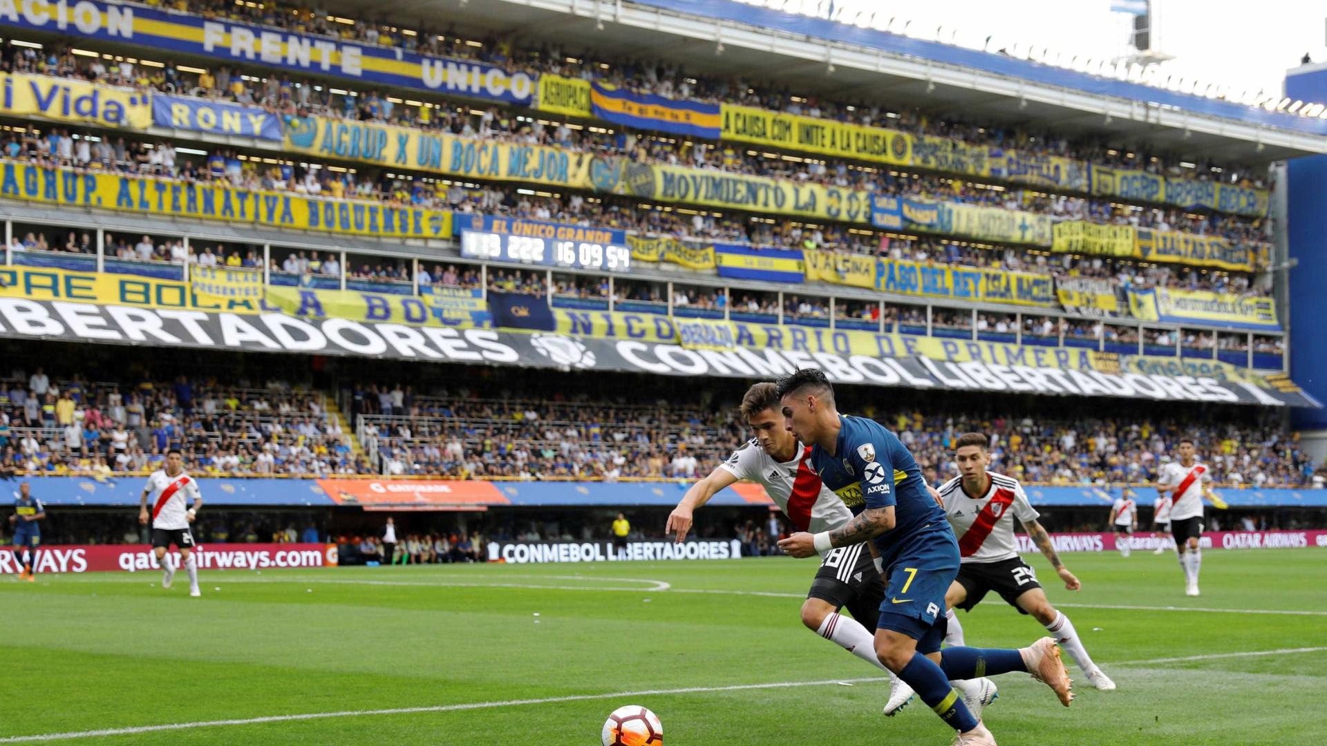 Final argentina da Libertadores mexe com poder e imagem do país