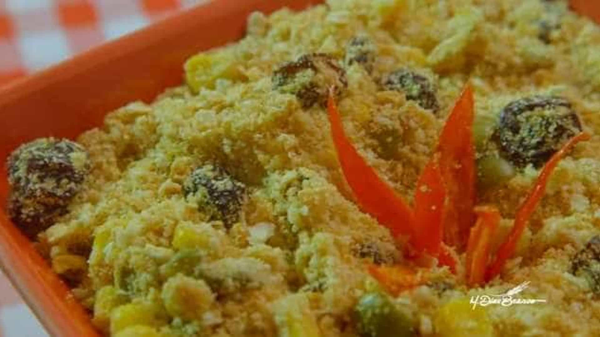 Entre no clima do Natal com deliciosa receita de farofa