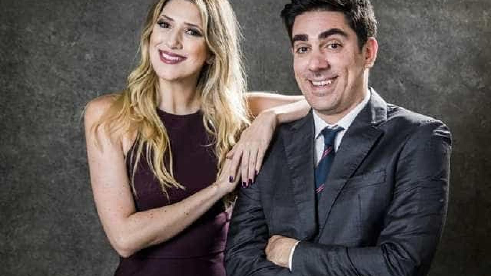 Dani Calabresa comemora trabalho com Marcelo Adnet: 'Fiquei feliz'