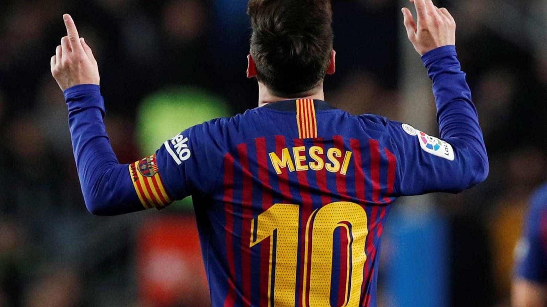 Messi marca, líder Barça bate o Celta e volta a abrir 3 pontos