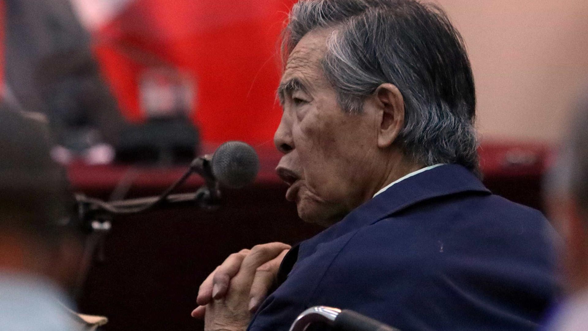 Fujimori está com a saúde debilitada, diz médico particular