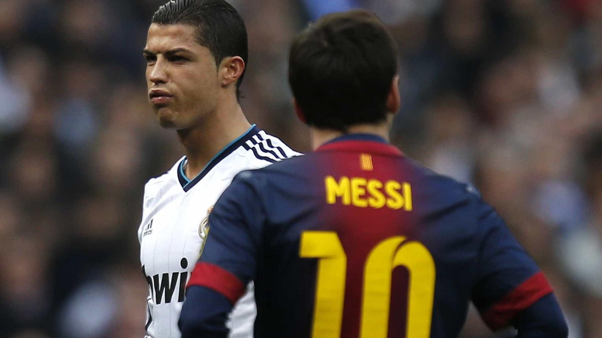 Messi responde a desafio de CR7 para jogar na Itália
