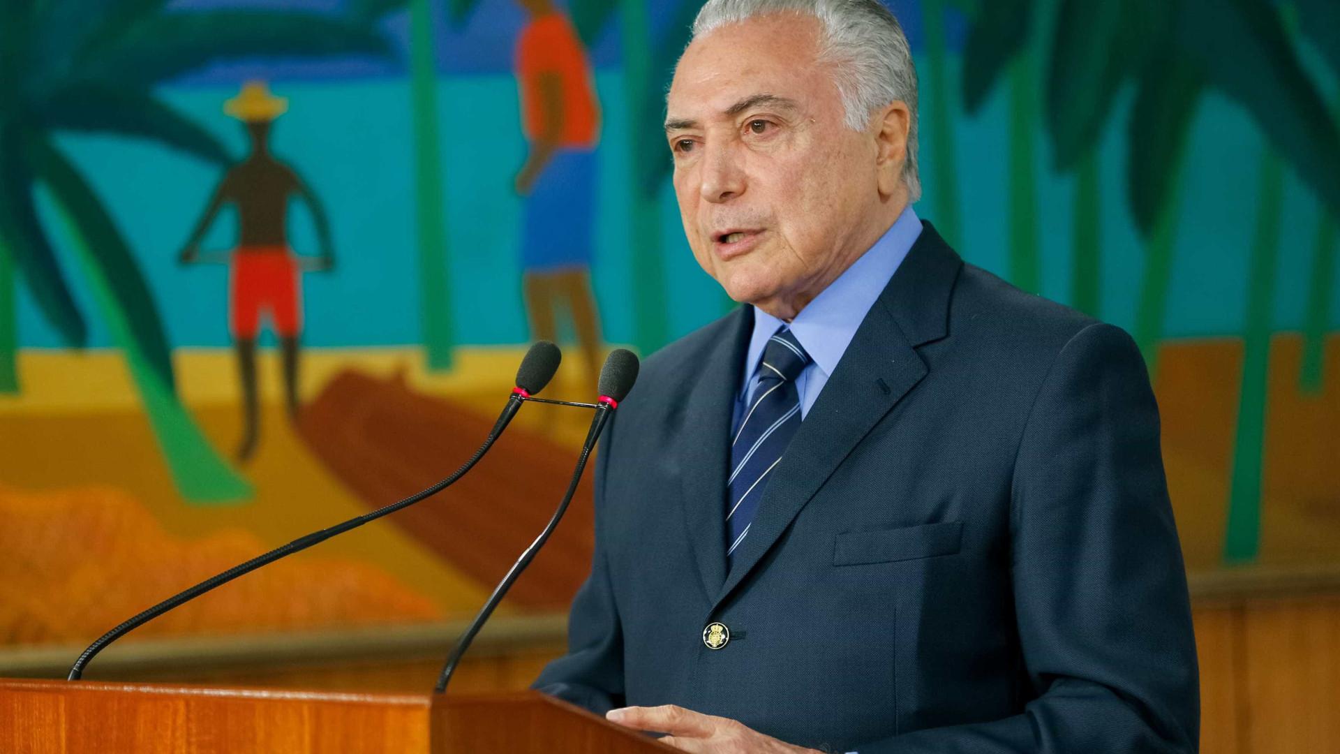 Temer anuncia R$ 3,4 bi em concessões a serem leiloadas por Bolsonaro