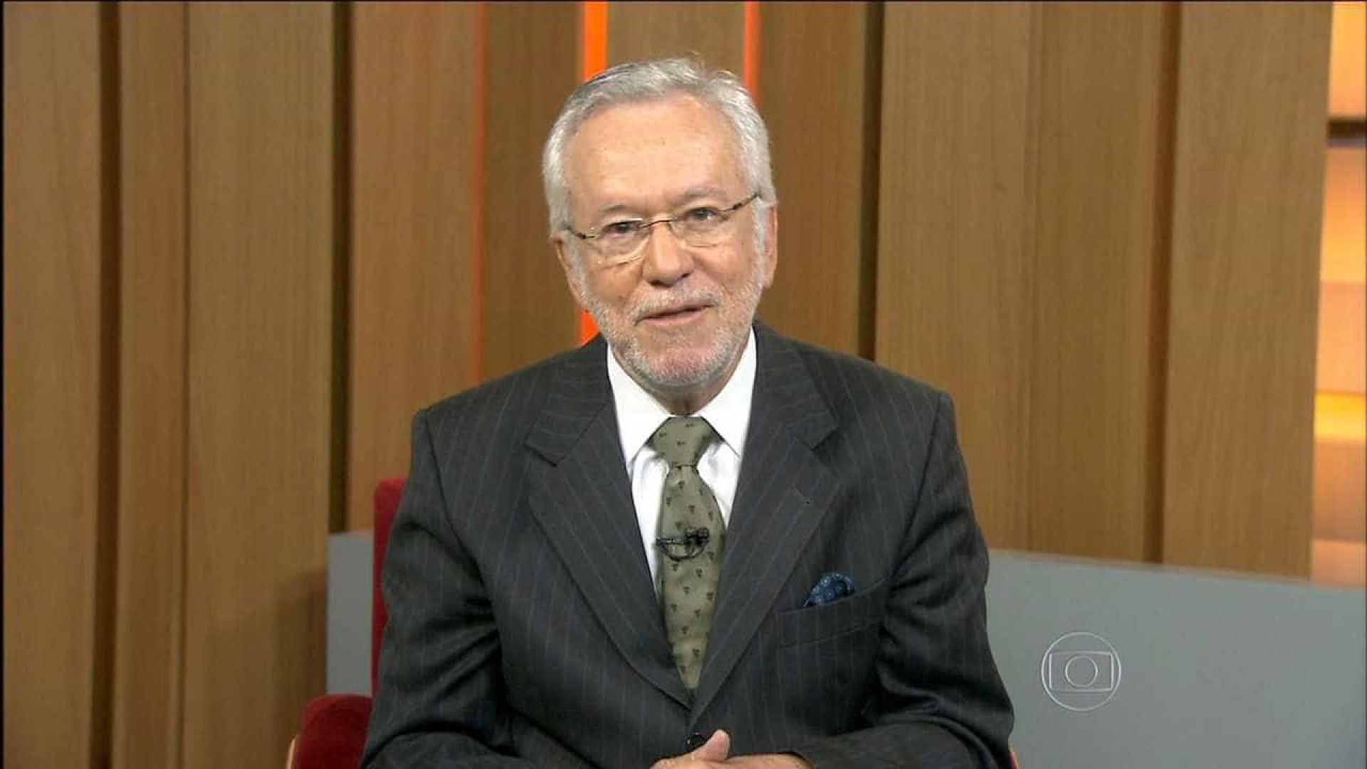 Jornalista Alexandre Garcia deixa TV Globo após 30 anos