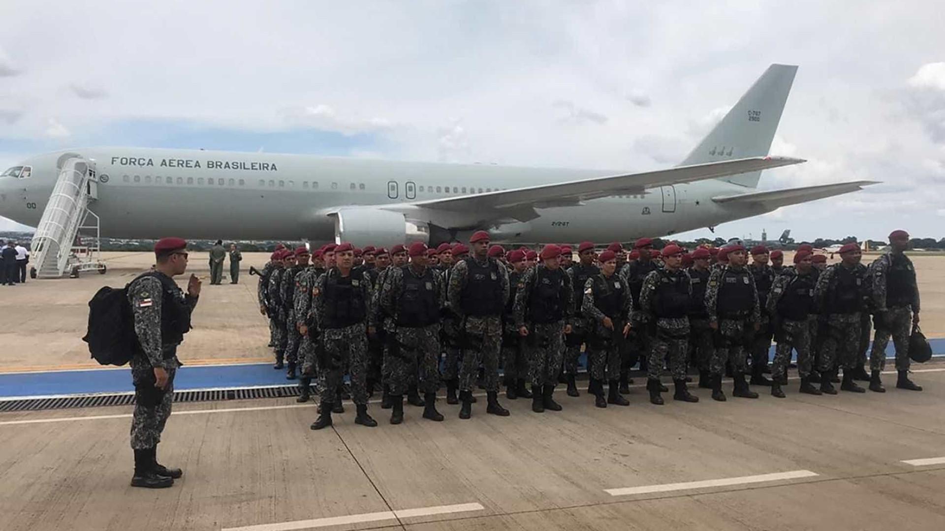 Força Nacional começa a atuar neste sábado no Ceará