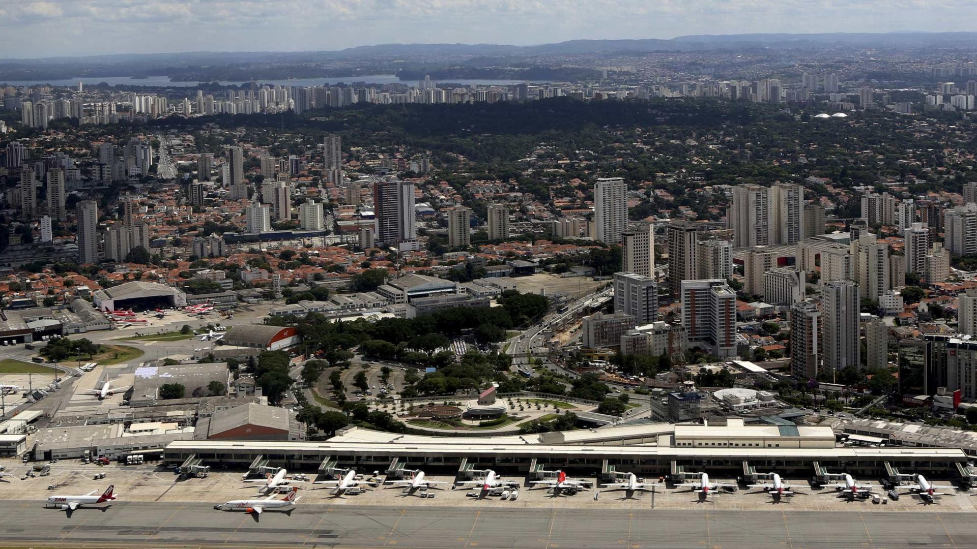 Voo irregular de drone fecha Aeroporto de Congonhas por 20 minutos