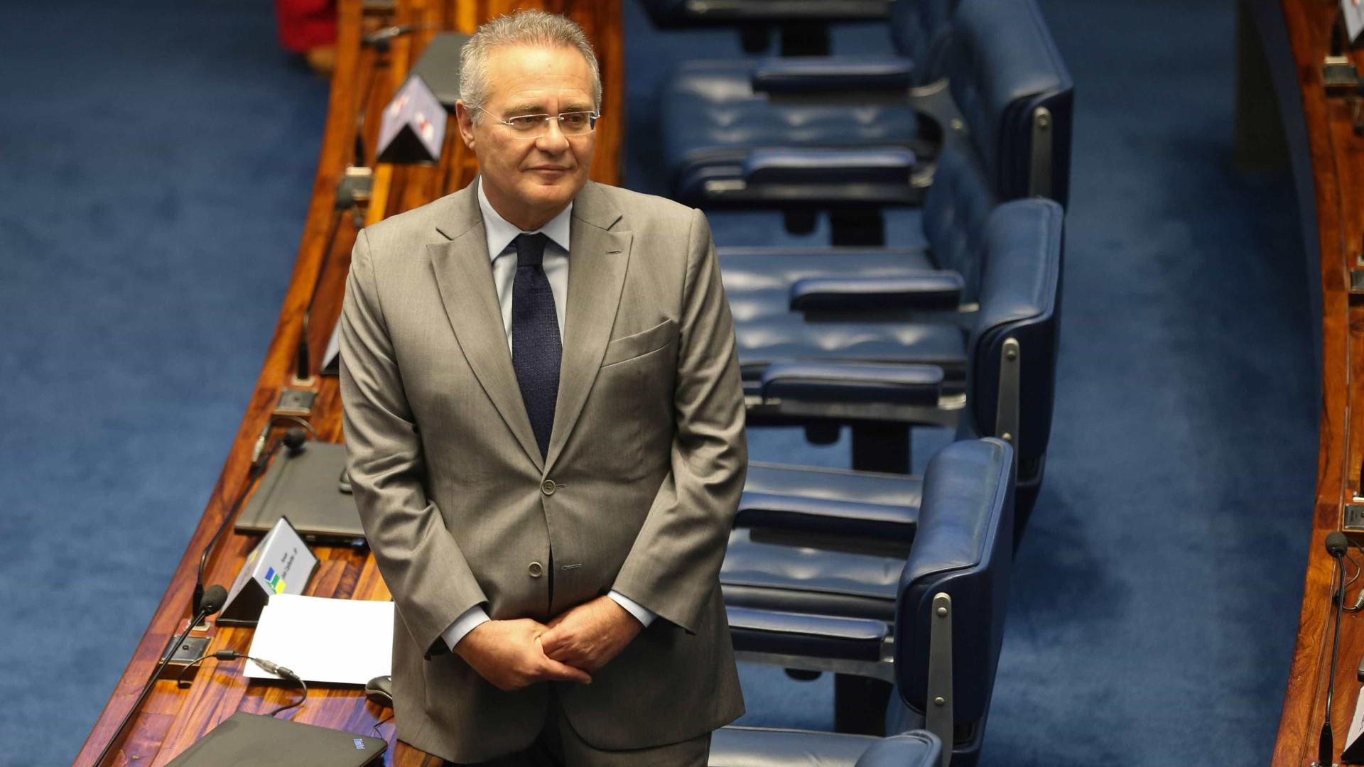 Renan tenta se alinhar a Bolsonaro para voltar a presidir Senado