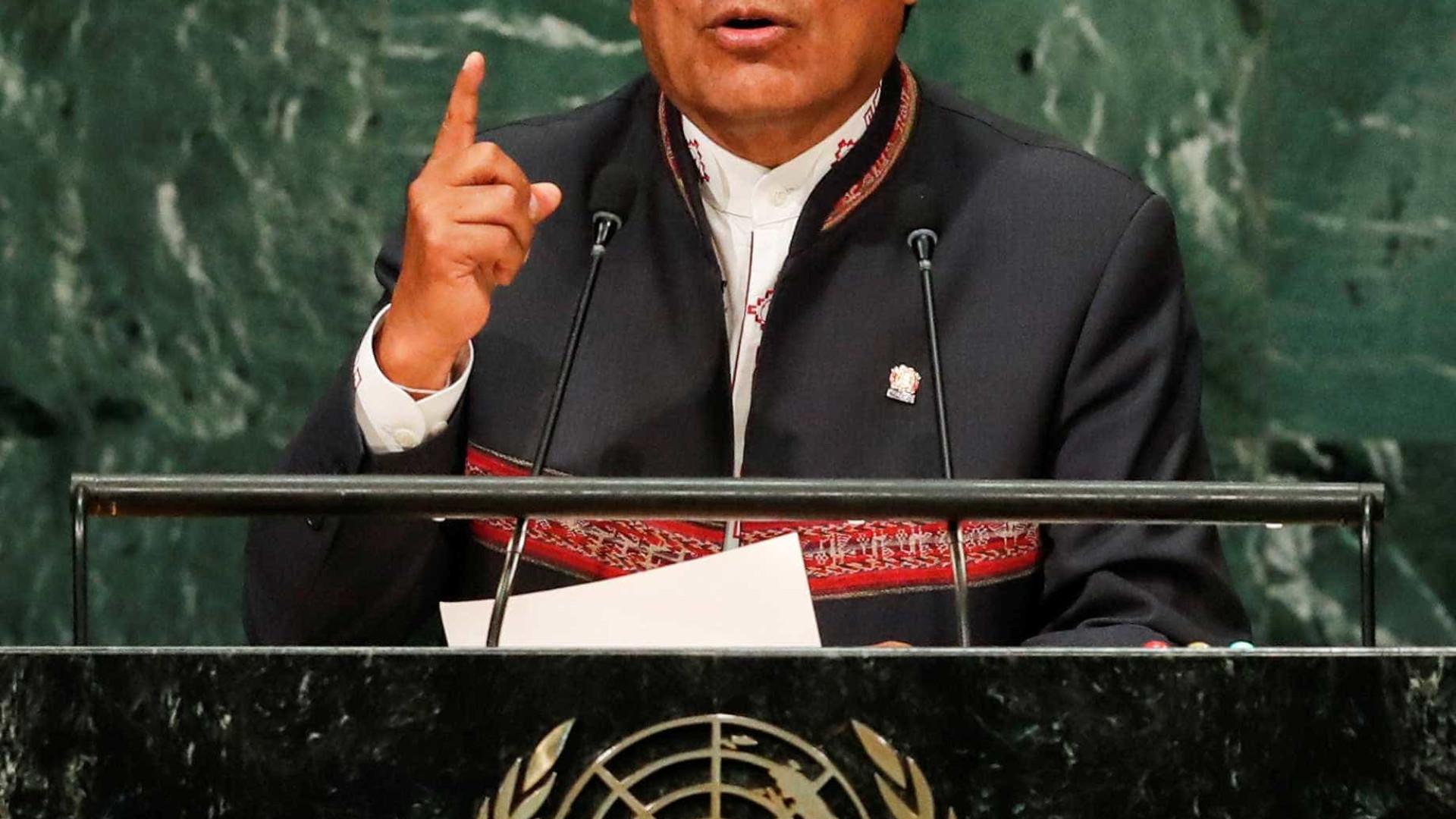 Bolívia e México mantêm apoio a Nicolás Maduro