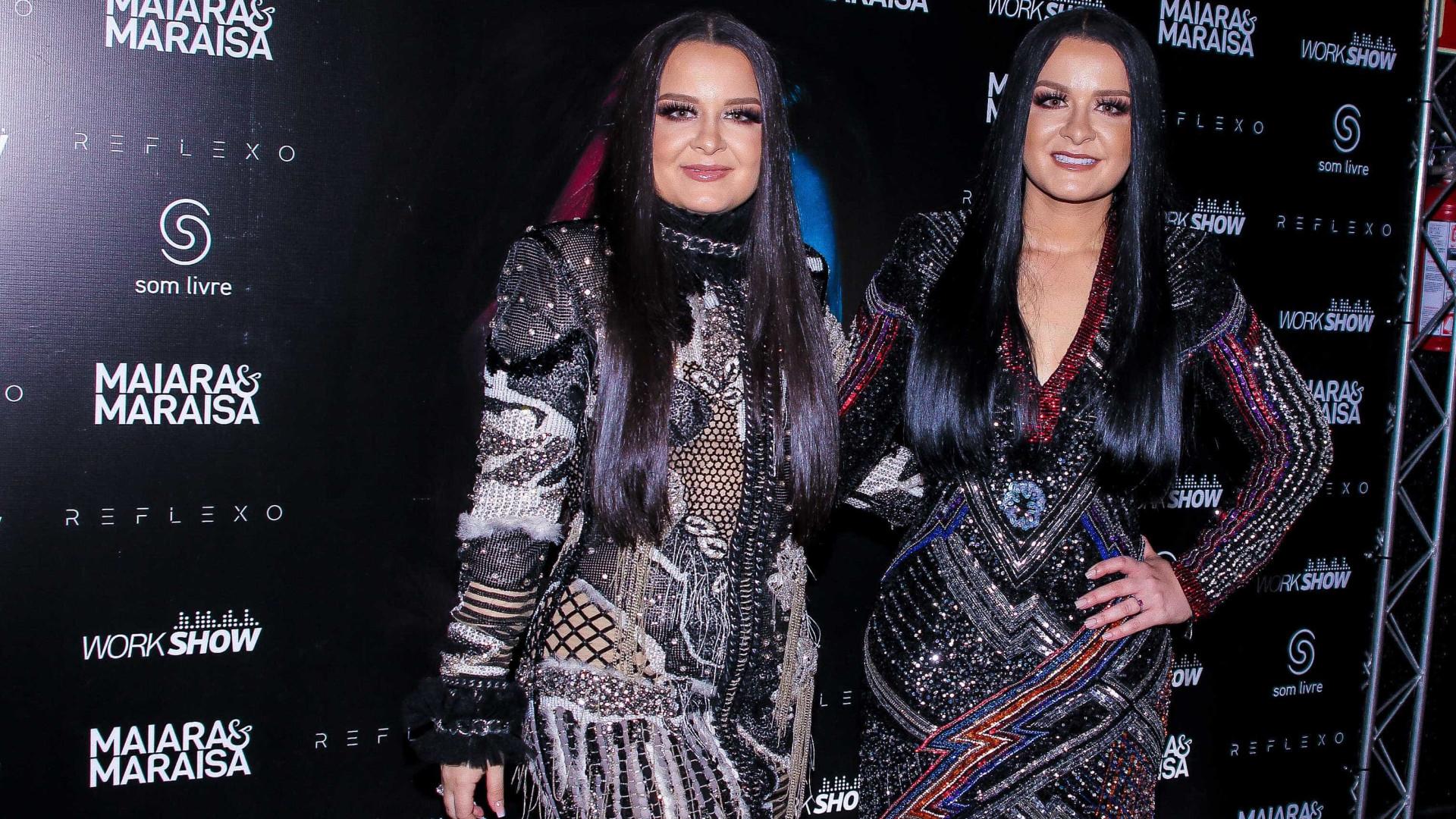 Preparando turnê, Maiara e Maraisa deixam fãs no 'controle' de shows
