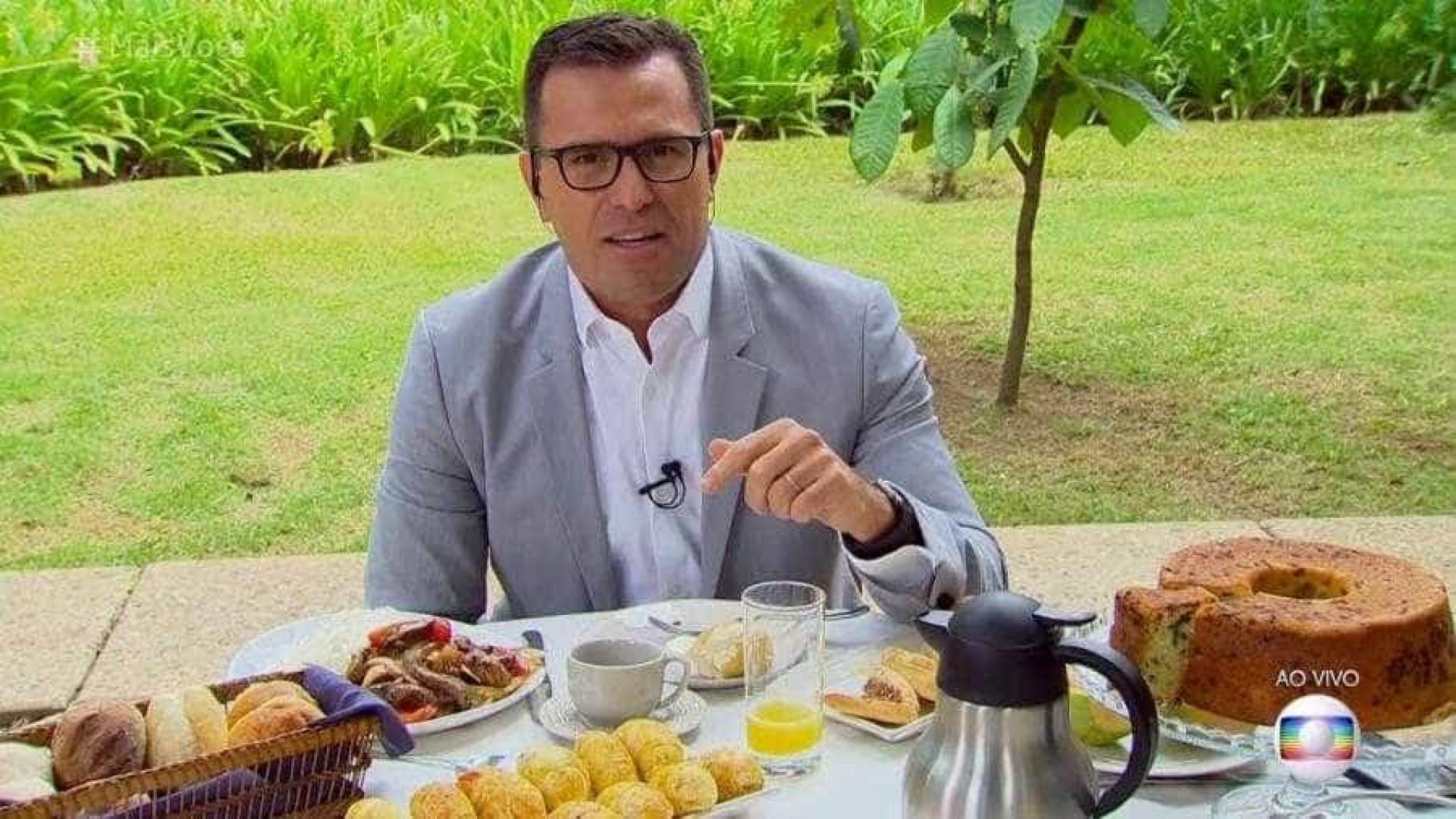 Apresentador da Globo diz que pensou em desistir após críticas: 'Robô'