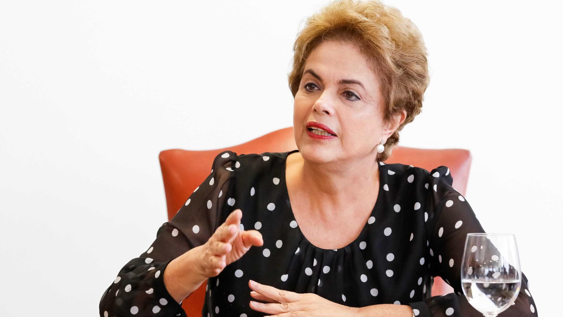 Dilma critica posicionamento de Bolsonaro sobre Wyllys: 'Inadmissível'