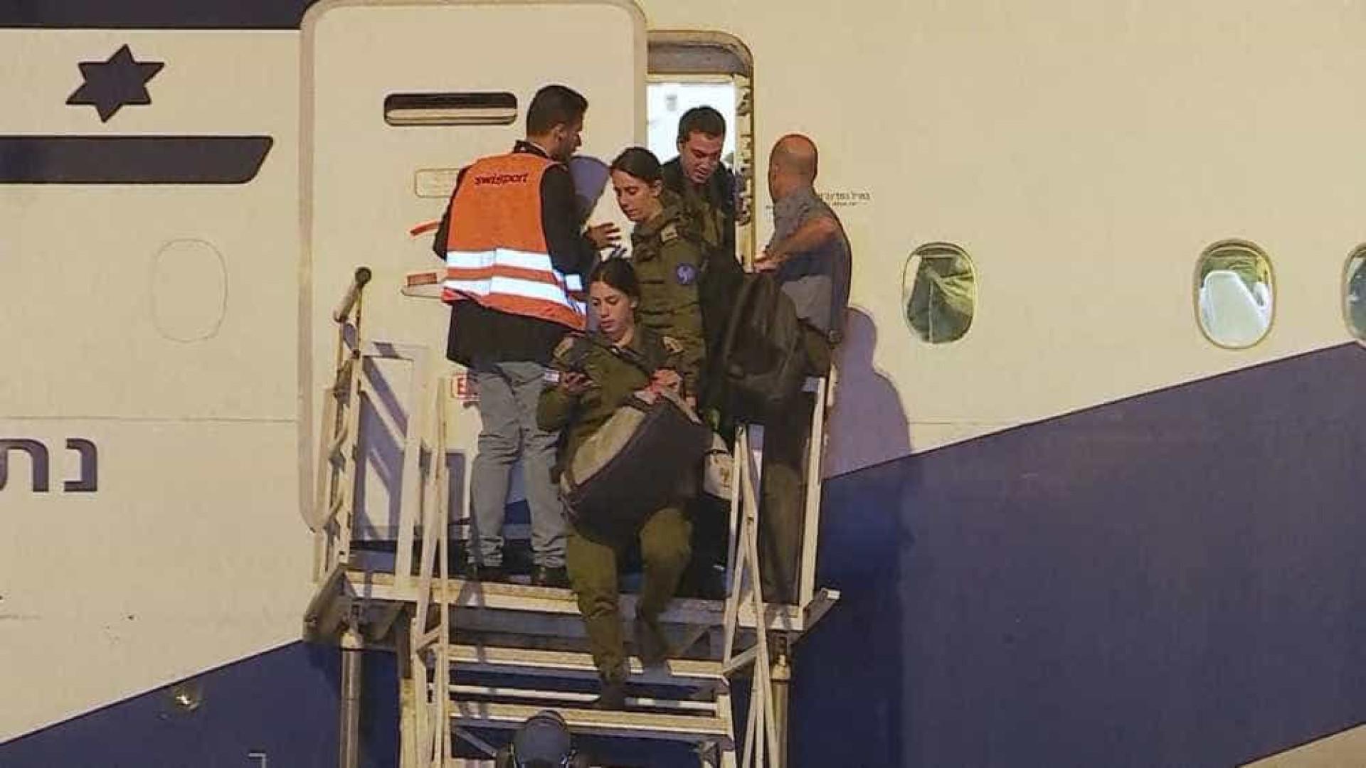 Avião com militares de Israel aterrissa em Belo Horizonte