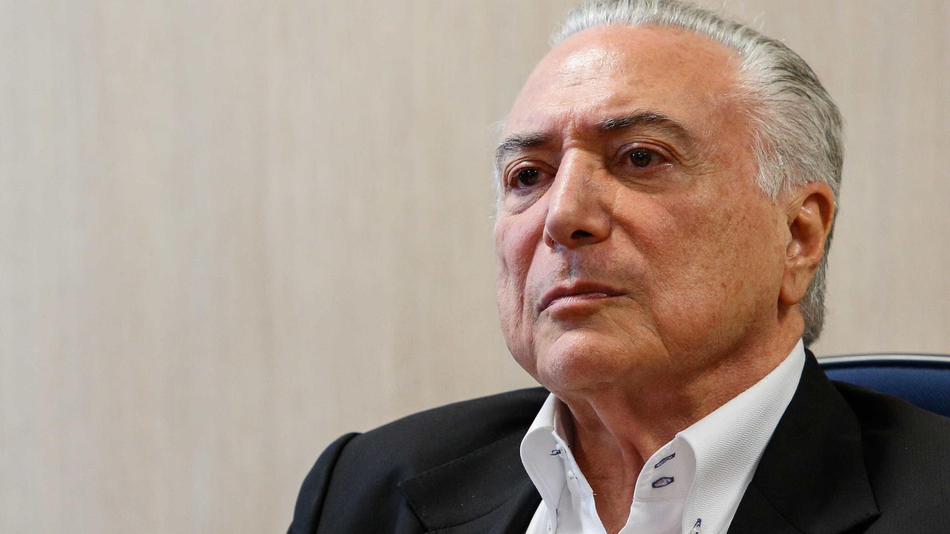 Dodge denuncia Temer no inquérito sobre desvios no setor de Portos