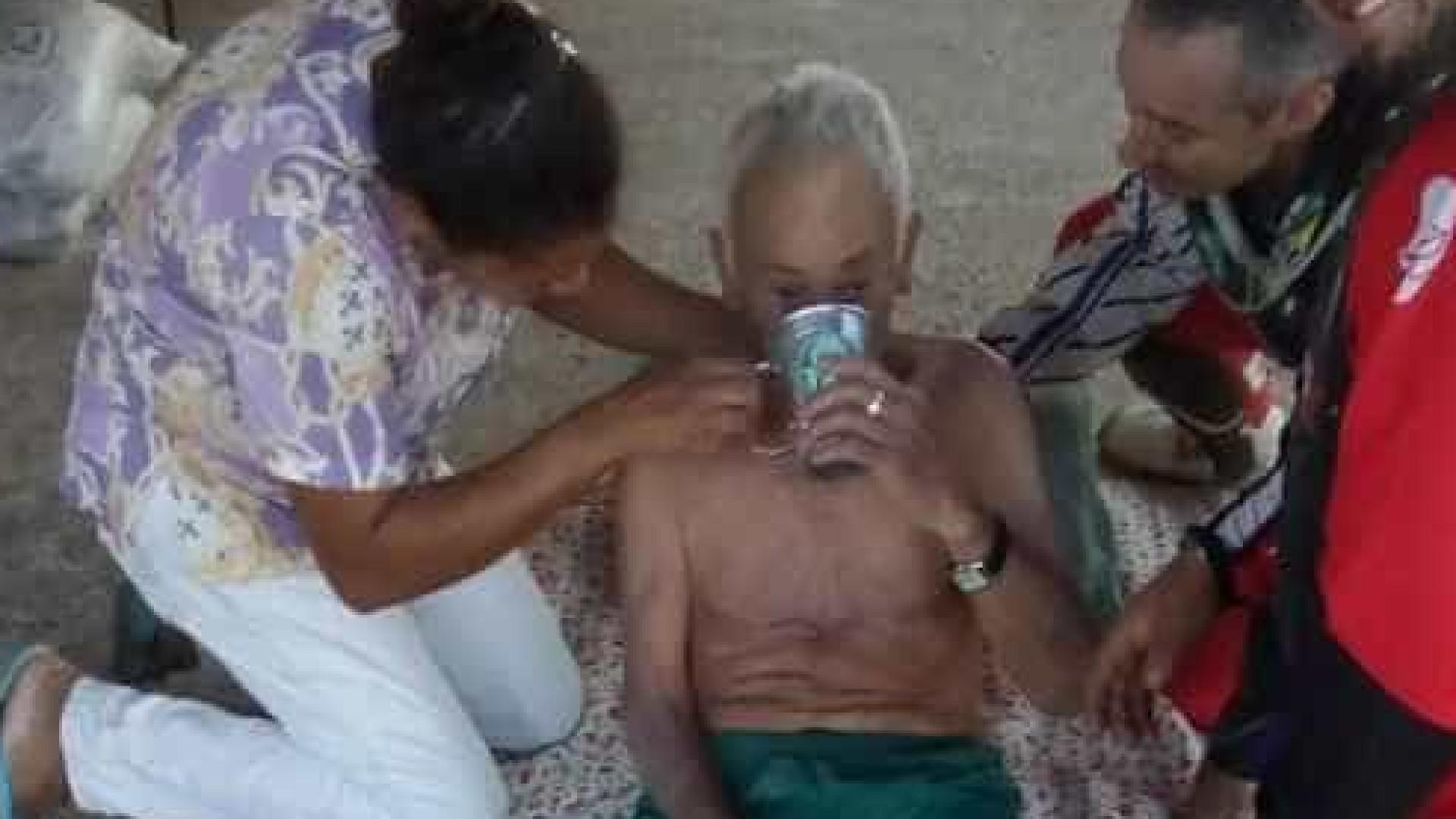 Idoso de 83 anos é resgatado após 5 dias perdido na mata em SP