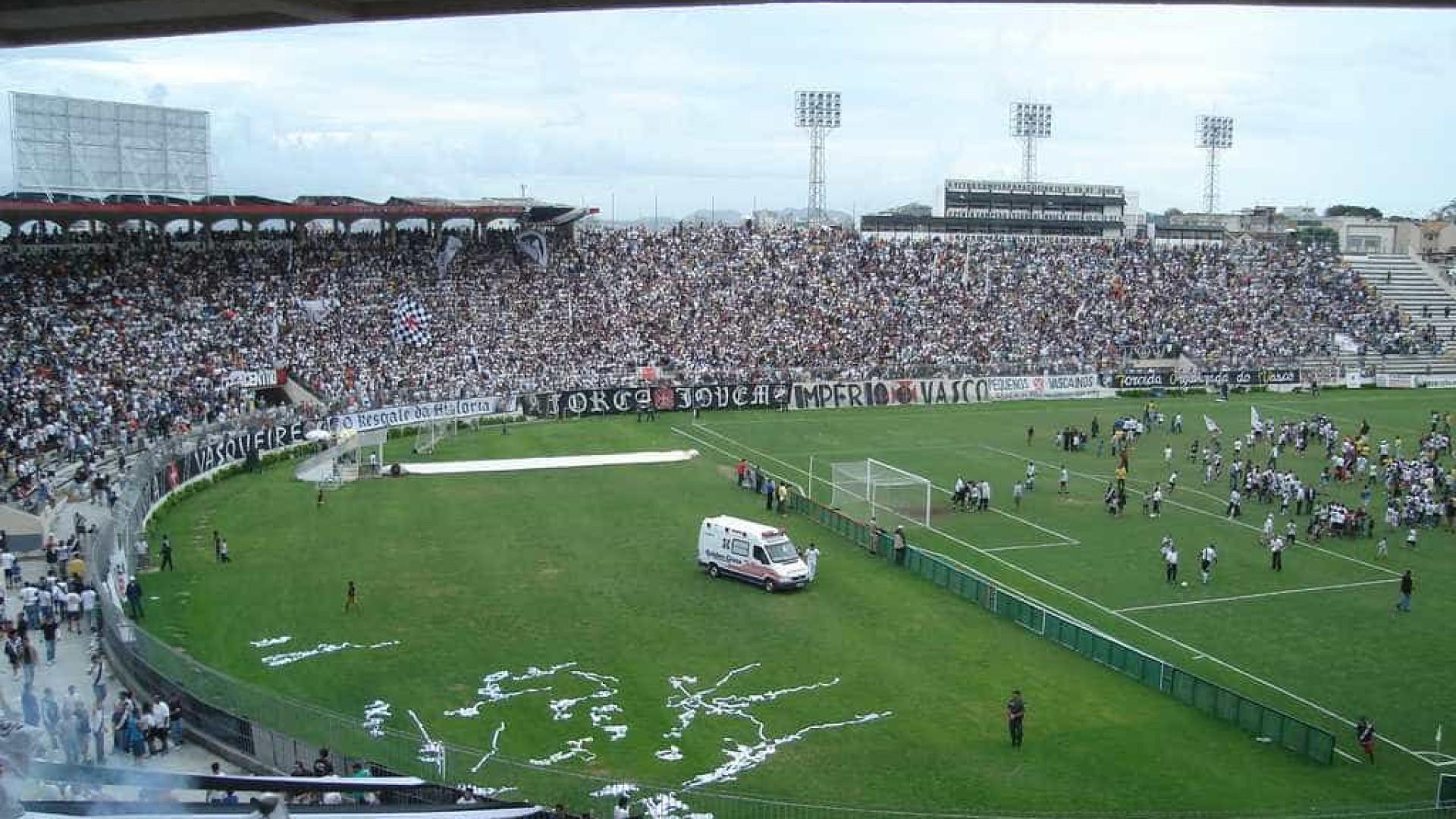 Vasco tem CT interditado e transfere treino para São Januário