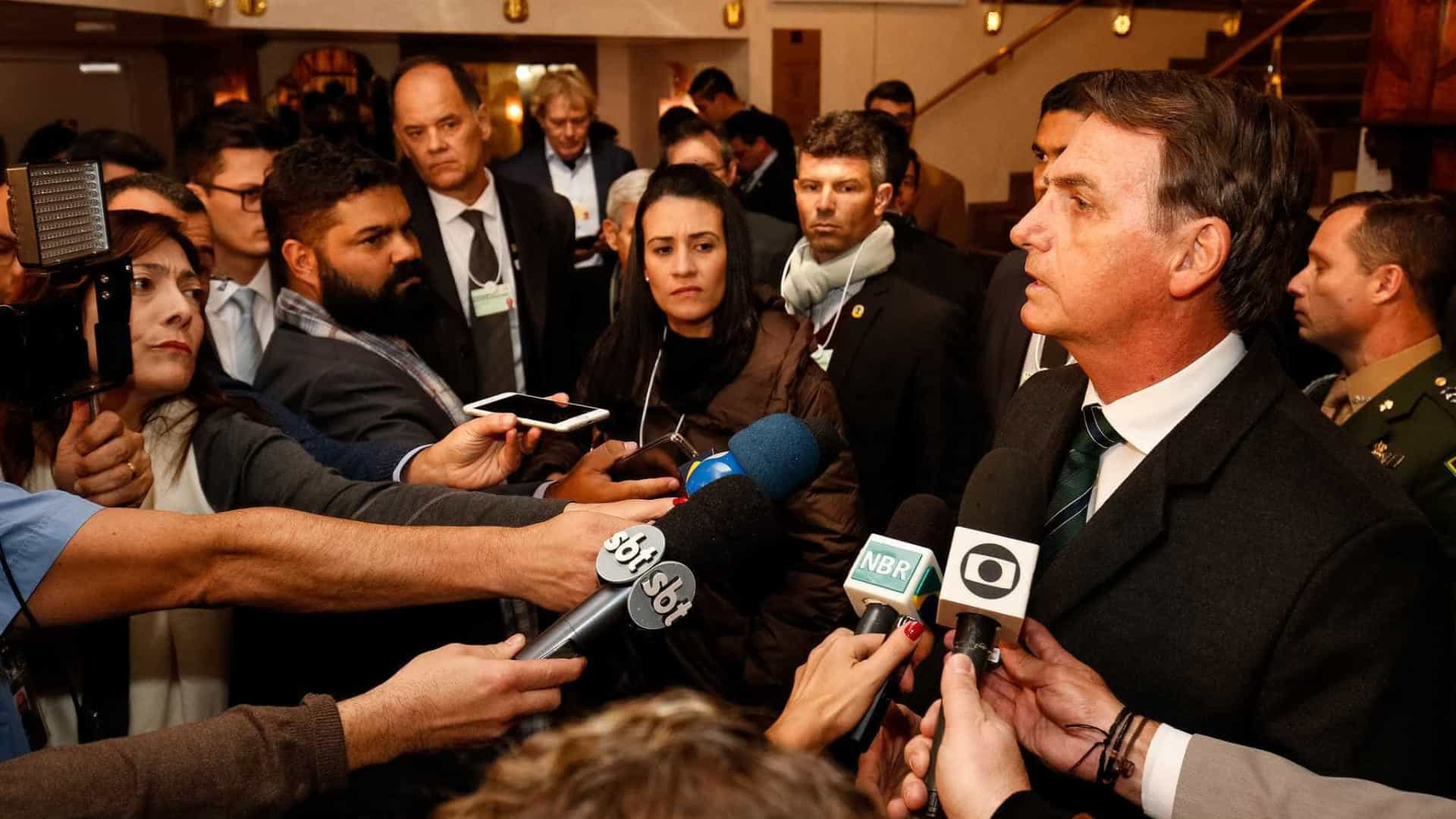 Bolsonaro discursa em Davos nesta terça-feira