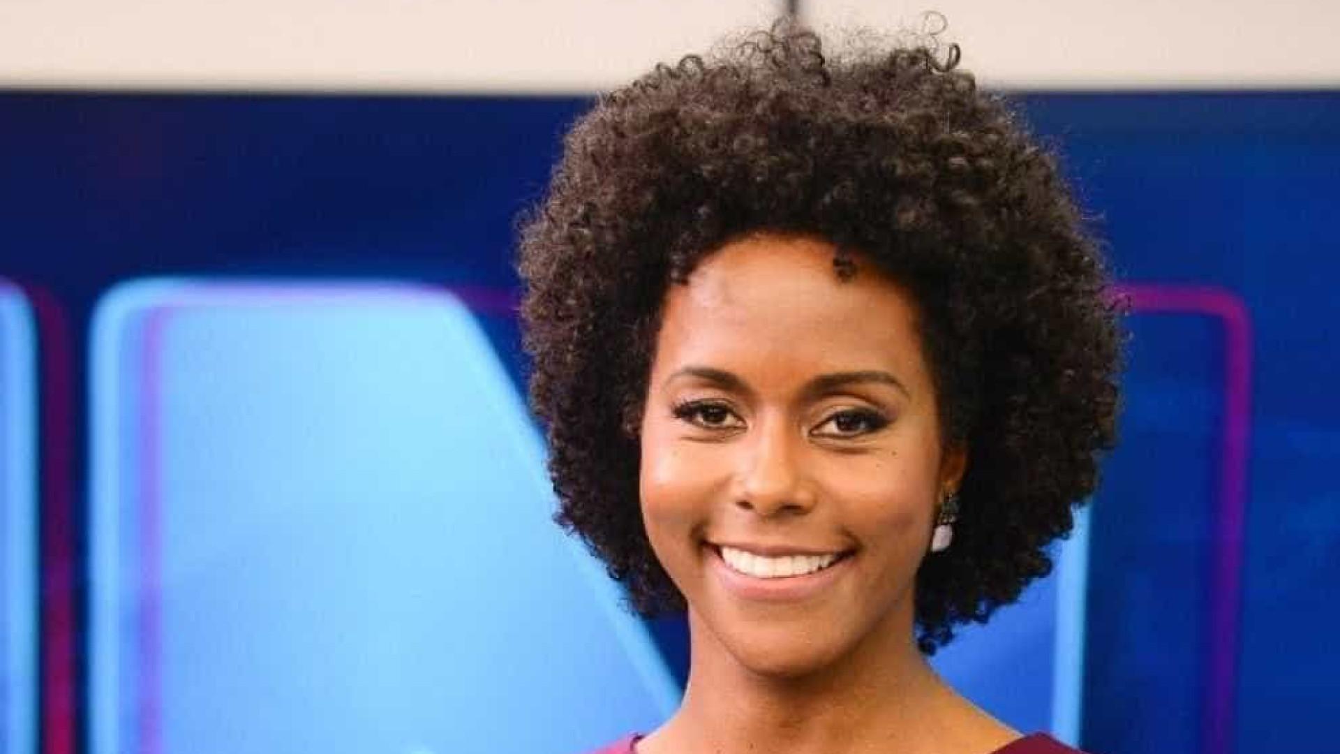 Maju Coutinho será a primeira mulher negra a comandar o 'JN'