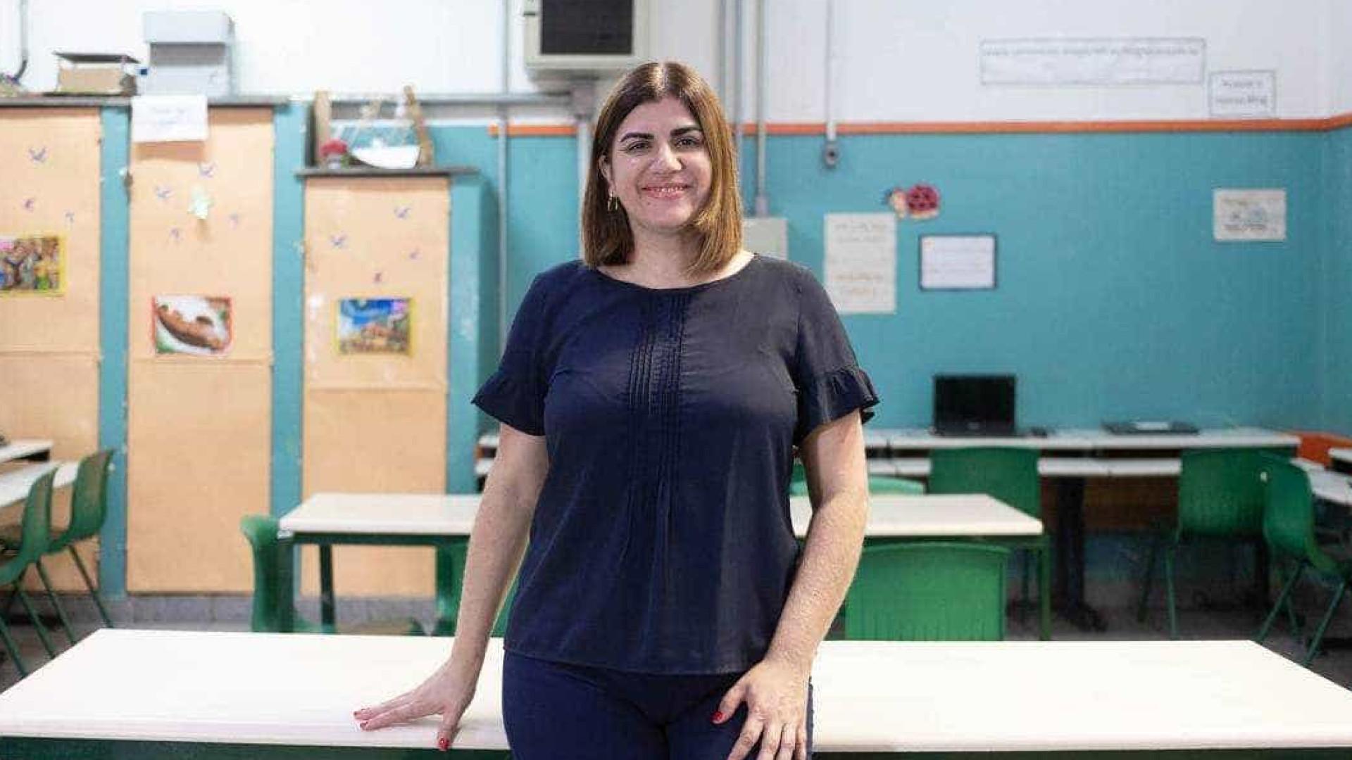 Professora da rede pública de SP briga por 'Oscar' da educação
