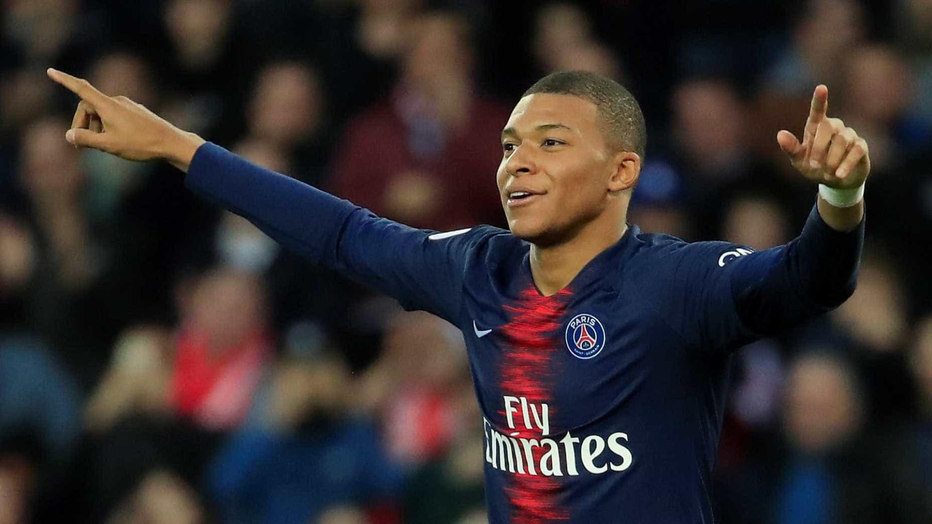 Mbappé brilha, PSG vence e abre 17 pontos de vantagem no Francês