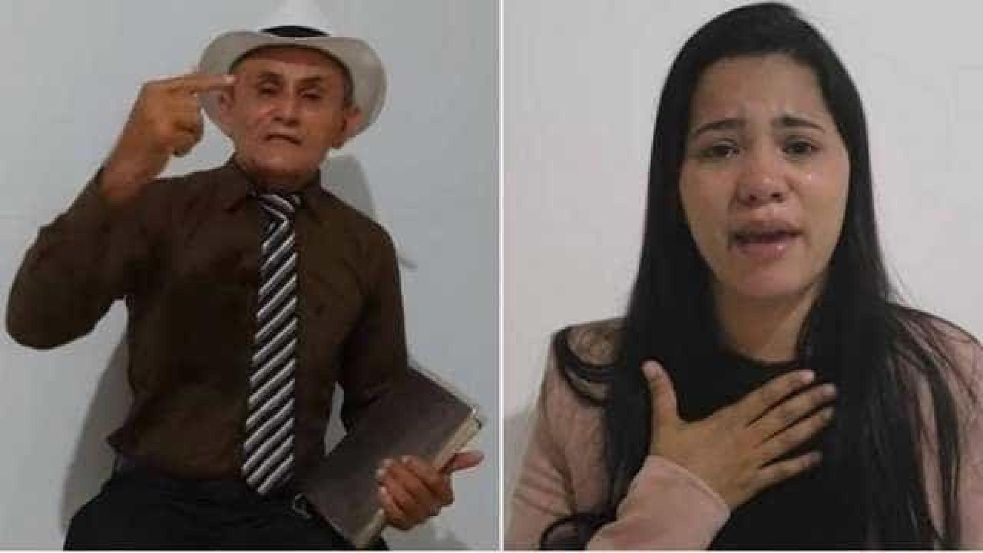 Ex-marido de Stefhany Absoluta rebate cantora: 'Satânica e maldita'