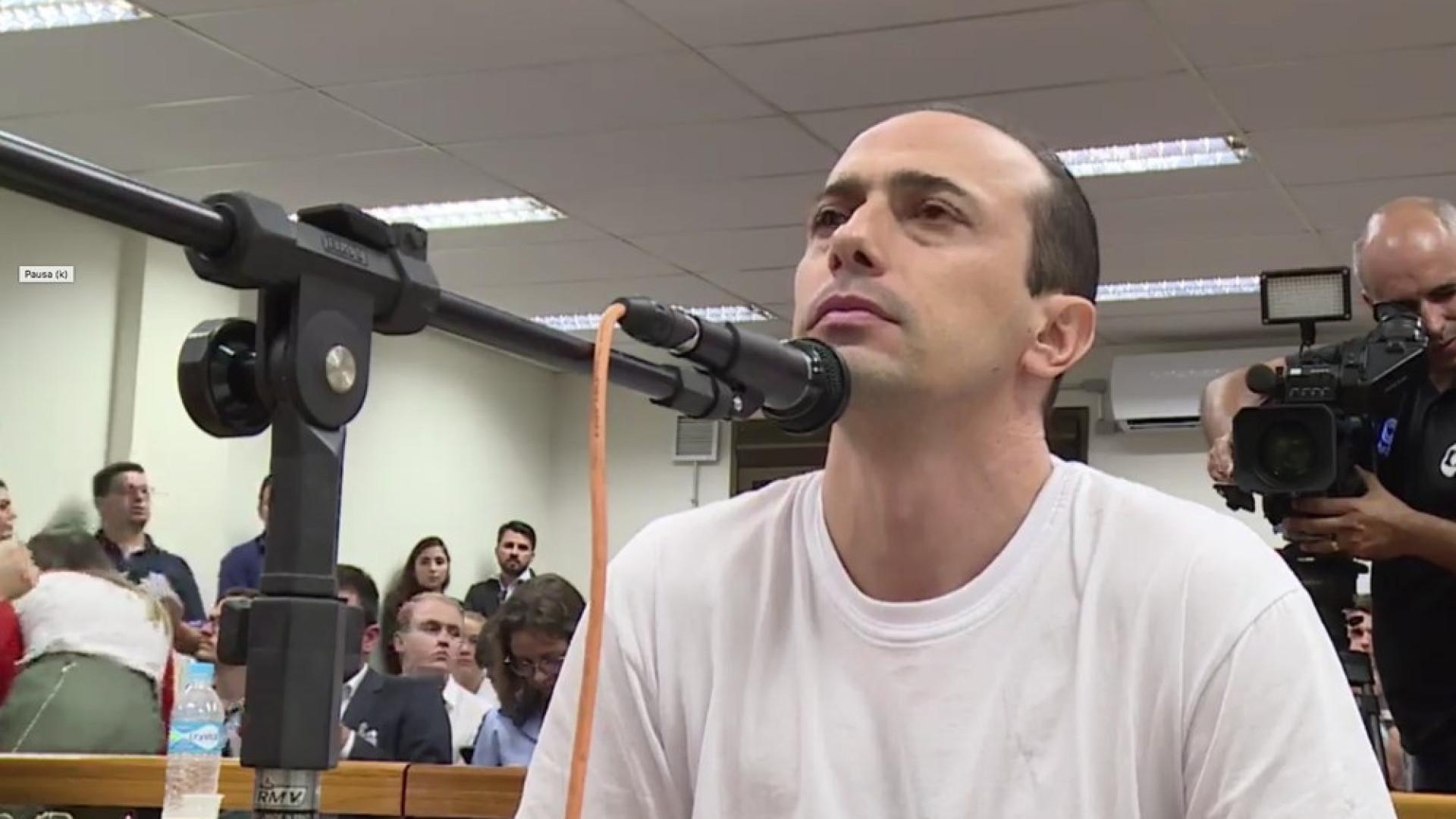 Pai de Bernardo reclama da personalidade do filho e nega assassinato