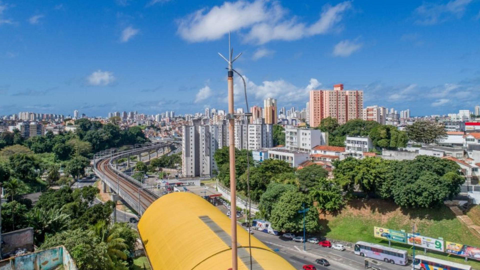 Metrô usará drone para monitorar 33 km de trilhos em Salvador