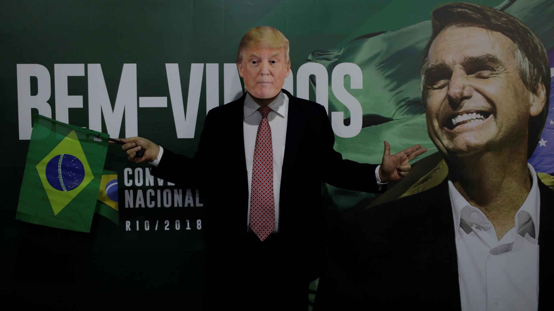Ida de Bolsonaro aos EUA concretiza alinhamento ideológico com Trump