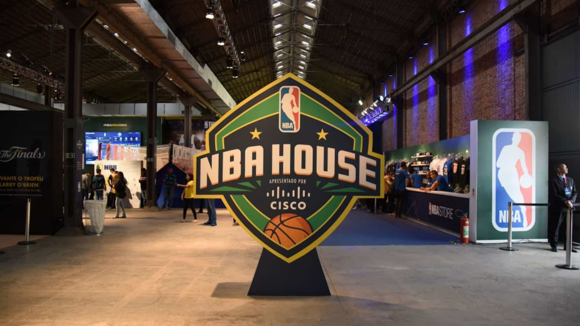 Com 'NBA House', liga norte-americana quer receber mais de 25 mil em SP