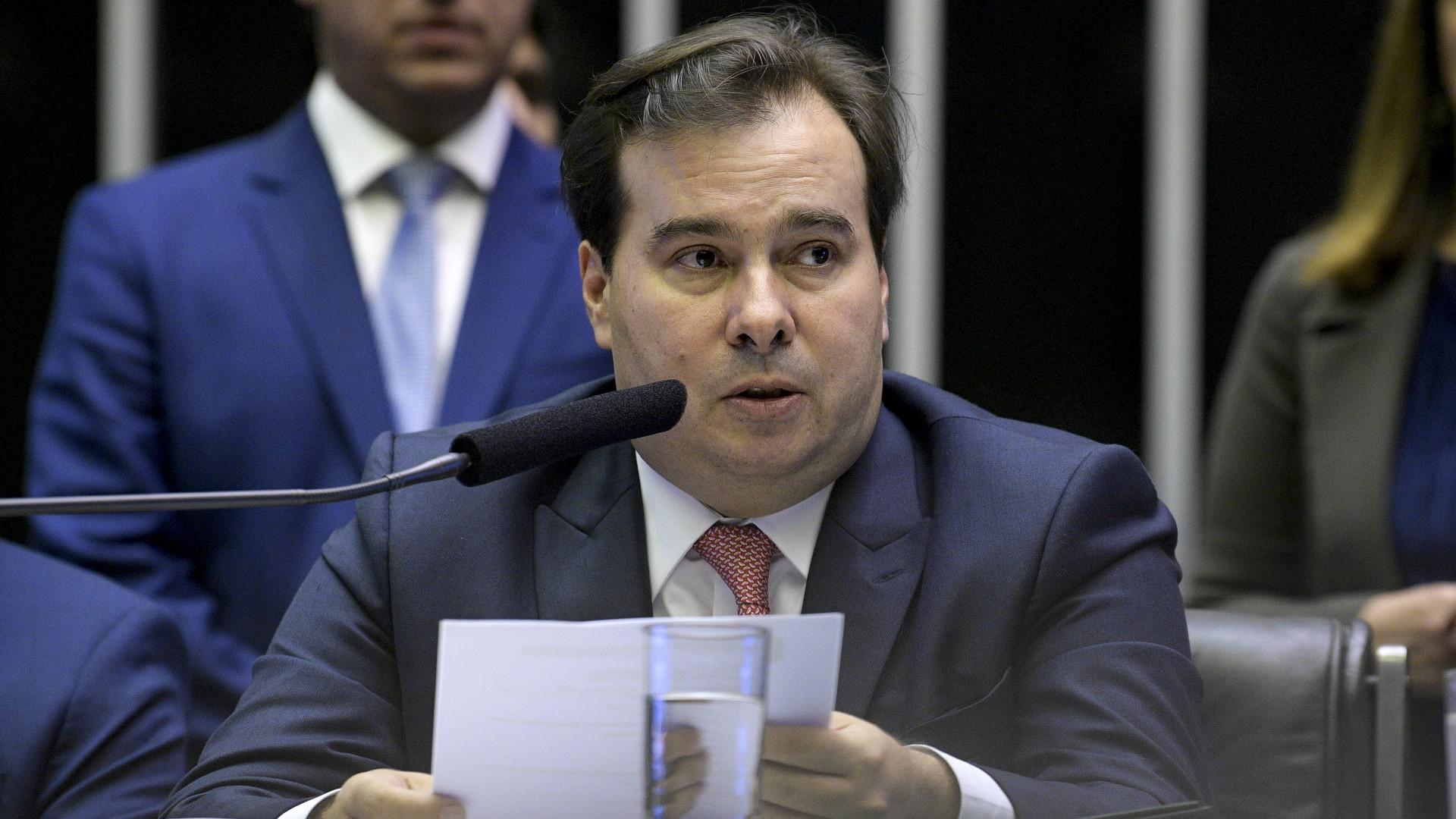 Rodrigo Maia: 'Trabalharei como deputado pela aprovação da Previdência'