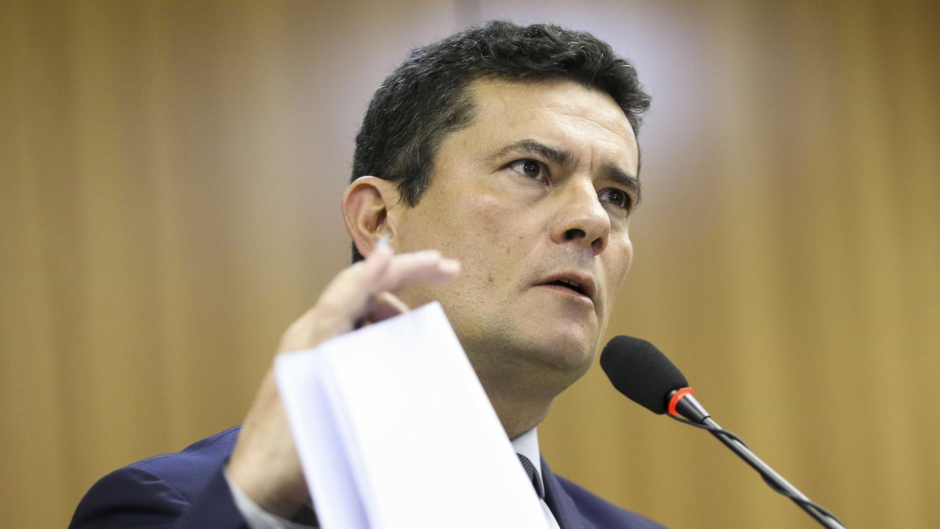 Moro: pacote anticrime endurece pena só para criminalidade mais grave