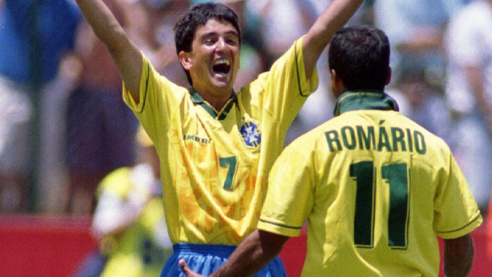 Comentarista diz que Romário ganhou Copa de 94 sozinho e irrita Bebeto