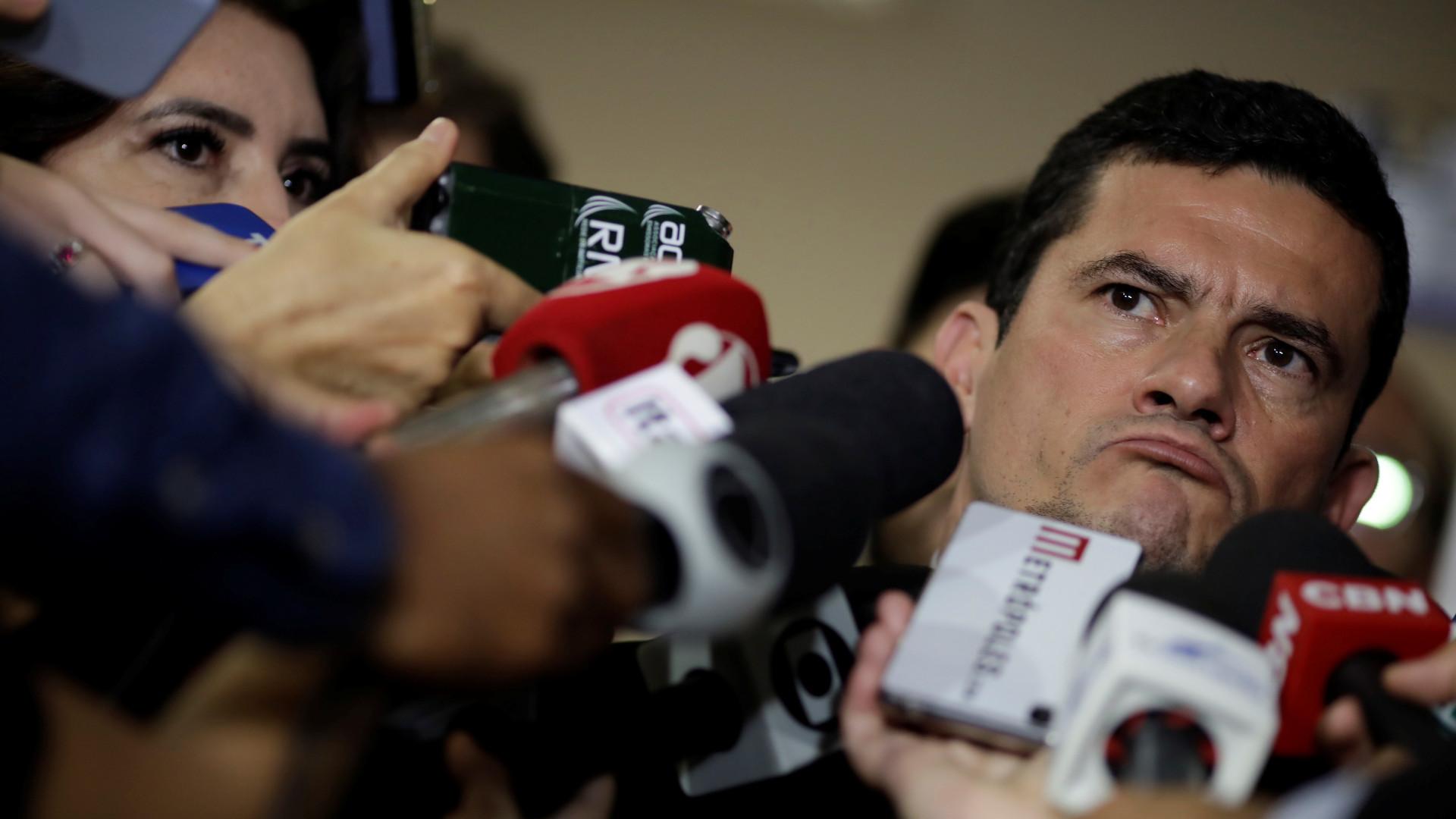 Sergio Moro diz desconhecer snipers de Witzel