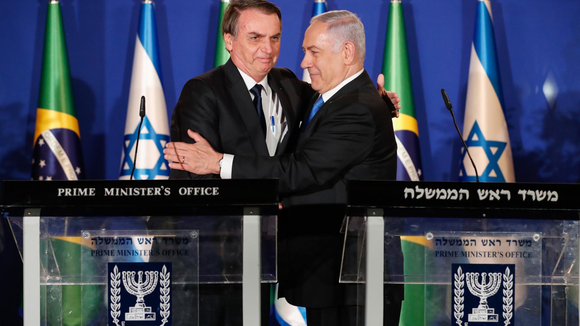 Brasil e Israel se complementam, afirma Bolsonaro